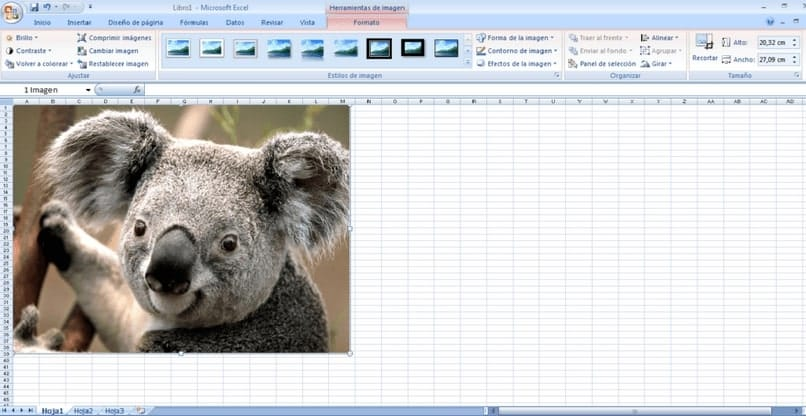 add an image to comment excel