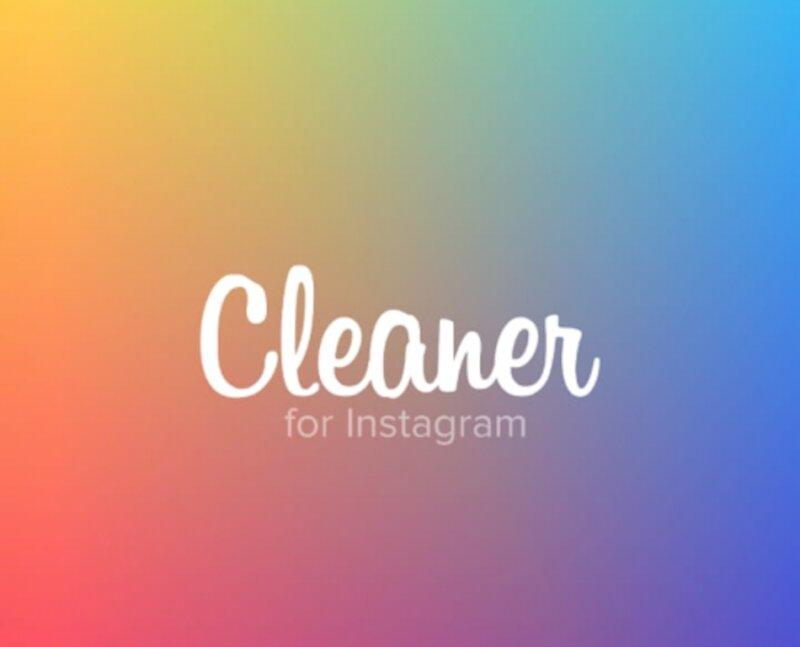 cleaner aplicacion para instagram