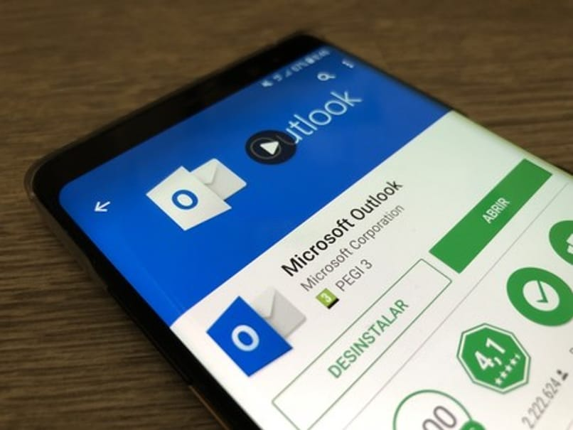 Microsoft Outlook application for Android