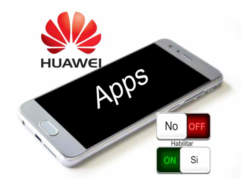 enable or disable Huawei applications
