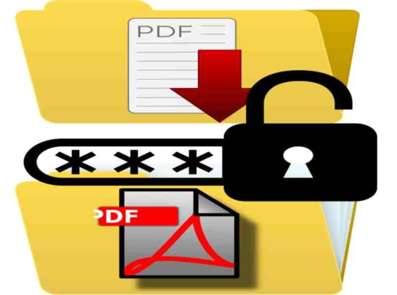 pdf file folders with access key