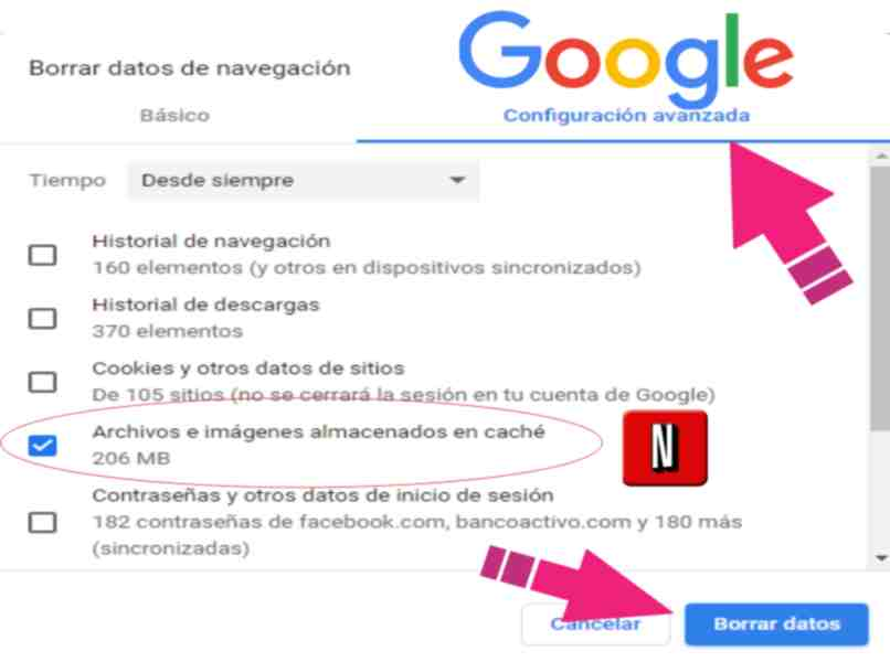 clear the browser's netflix solution cache