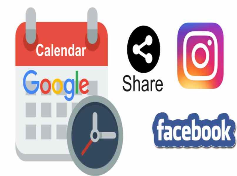 share google calendar on social networks