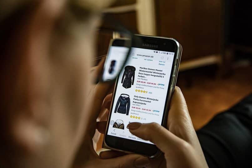 buy on Amazon using the app