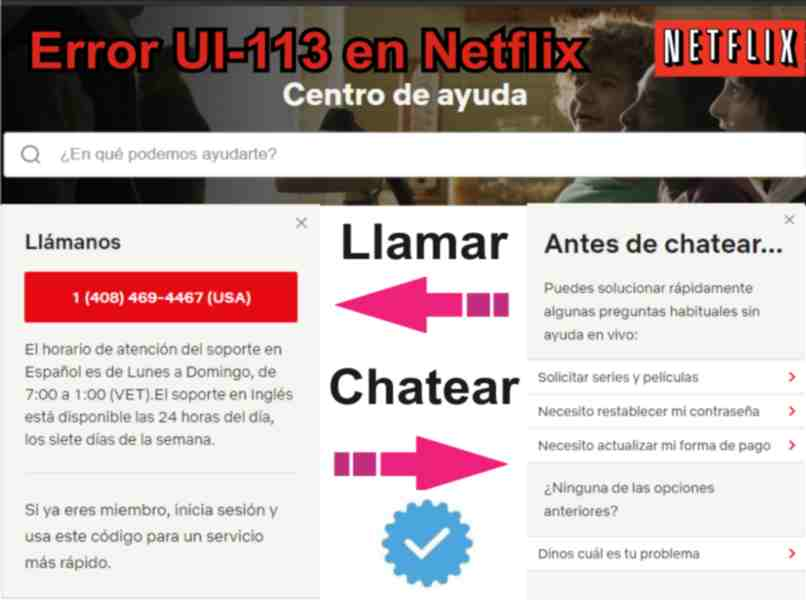 how to call or chat with netflix customer service
