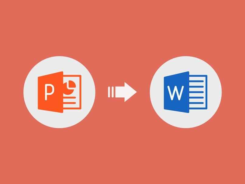 convert the Powerpoint document to Word