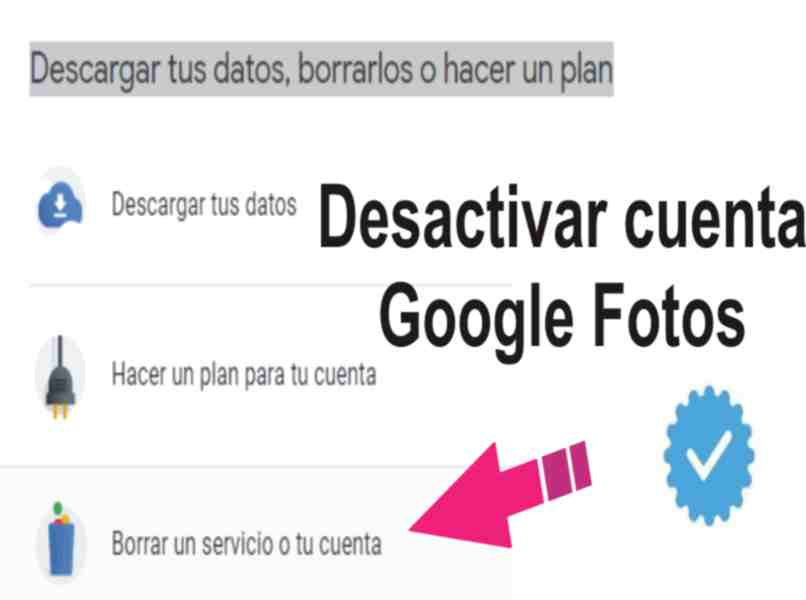 how do I deactivate my Google photo account