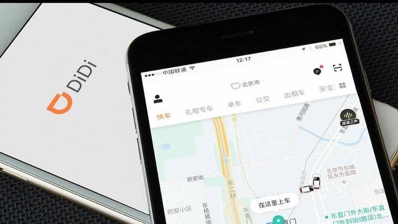 app didi mapa movil tablet