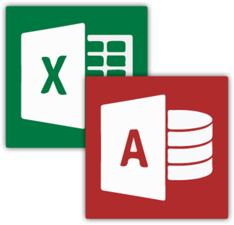 excel logo and access differences