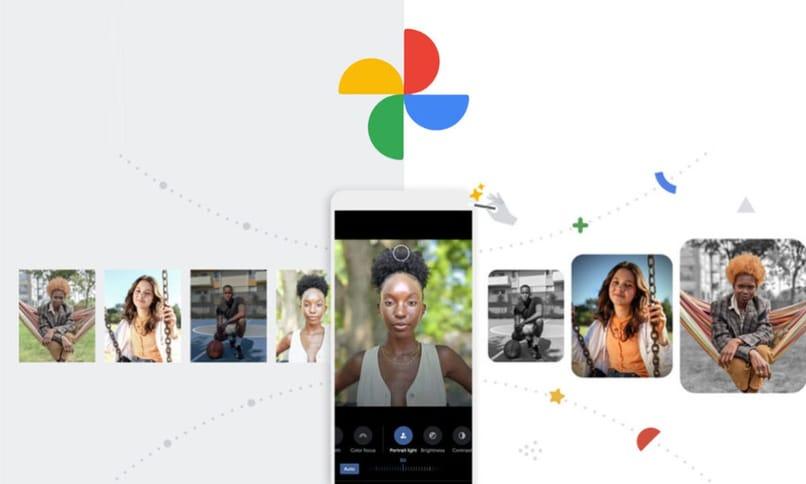 google photo filters