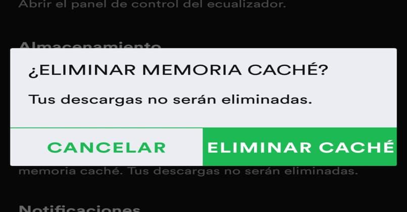 clear cache button