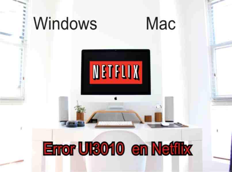 netflix UI3010 error is displayed on your computer