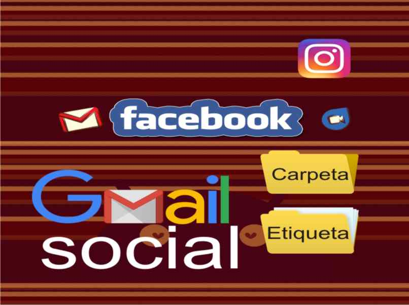 sort emails by social networking categories