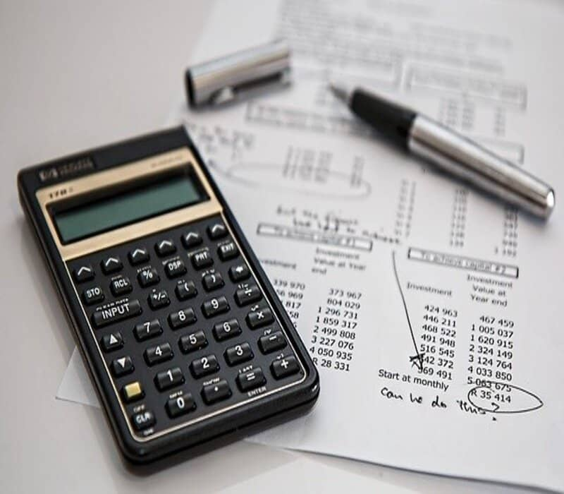 calculadora para calculo de saldo
