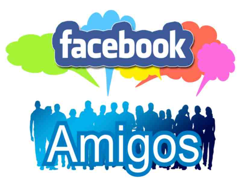 notifying friends and colleagues on Facebook