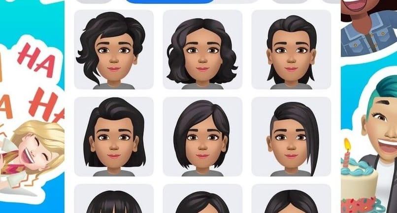 types of avatars on facebook
