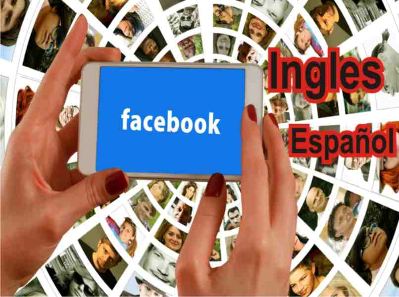 two languages available for use on Facebook