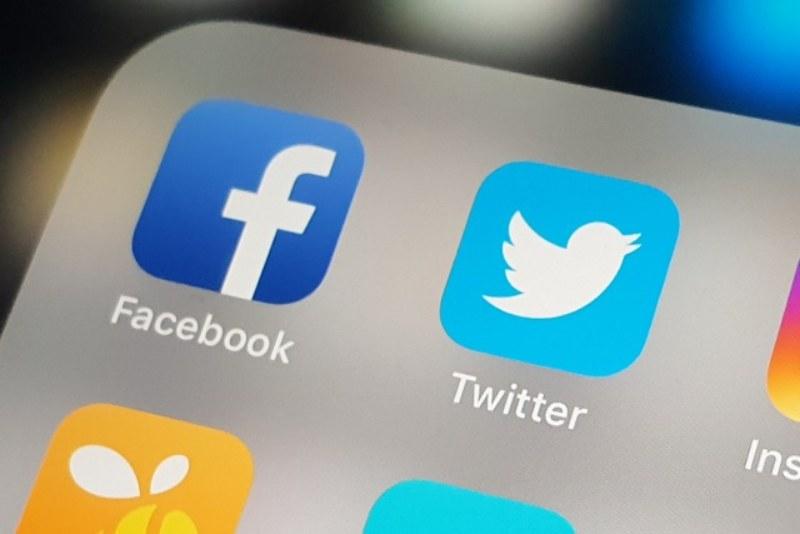iconos facebook y twitter