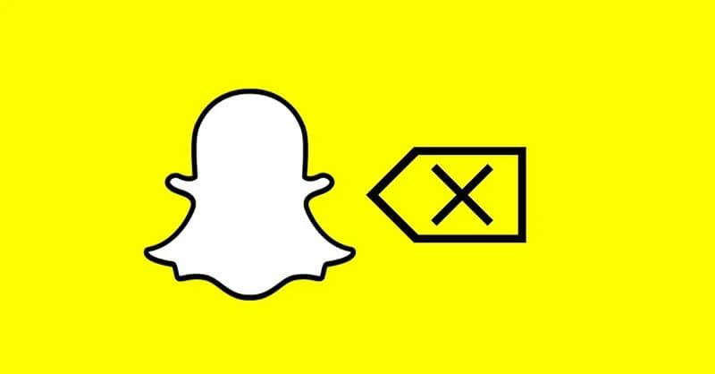 eliminar logo de snapchat