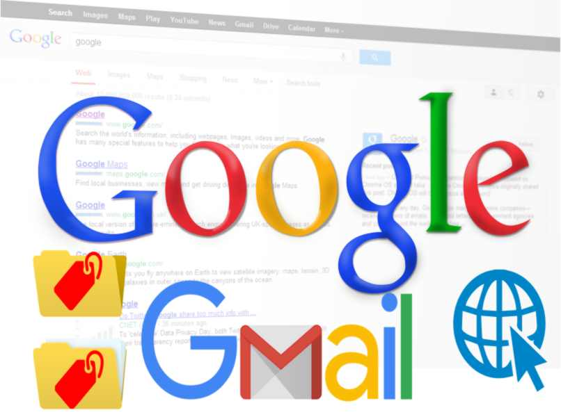 create Gmail folders in web version only