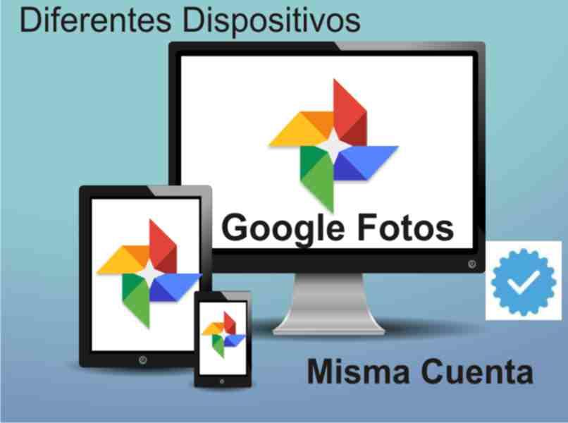 sync a Google Photos account across multiple devices