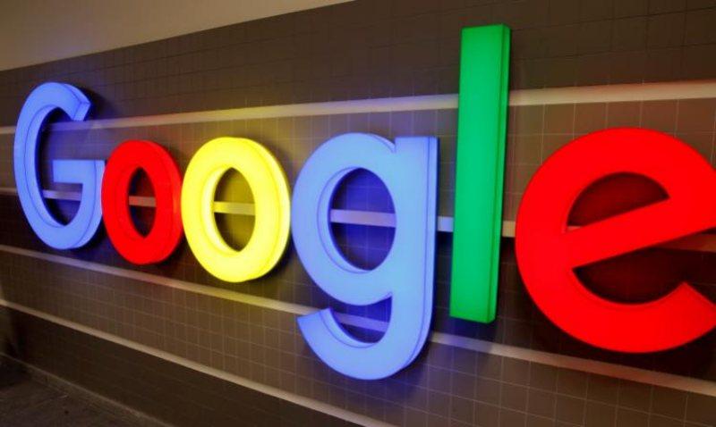 logo luminoso google