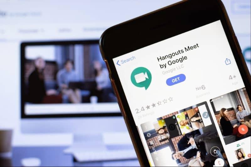 movil app google meet