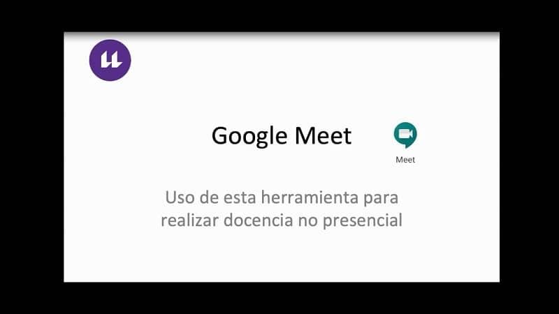 aviso de google meet
