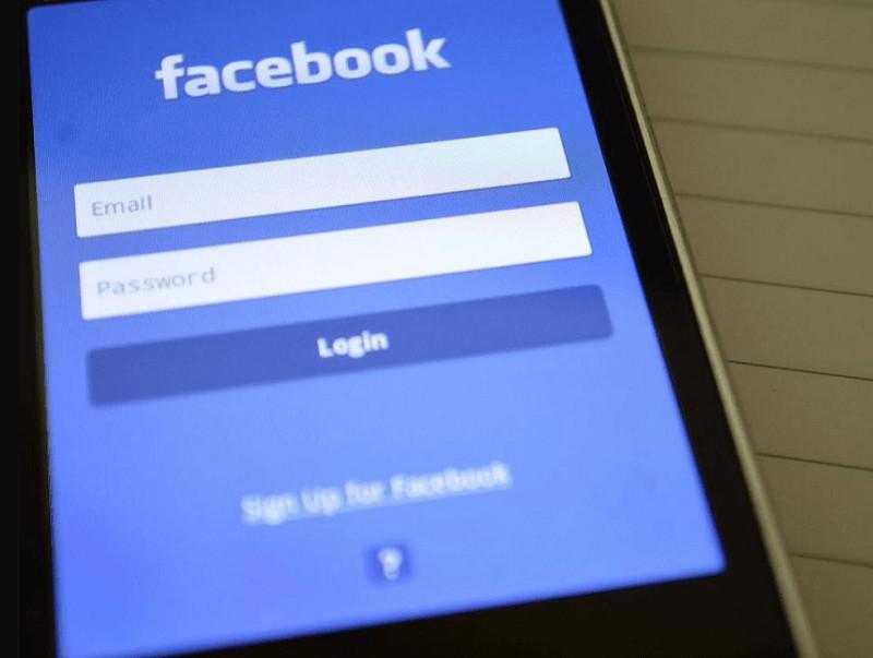 iniciar sesion en facebook desde el movil