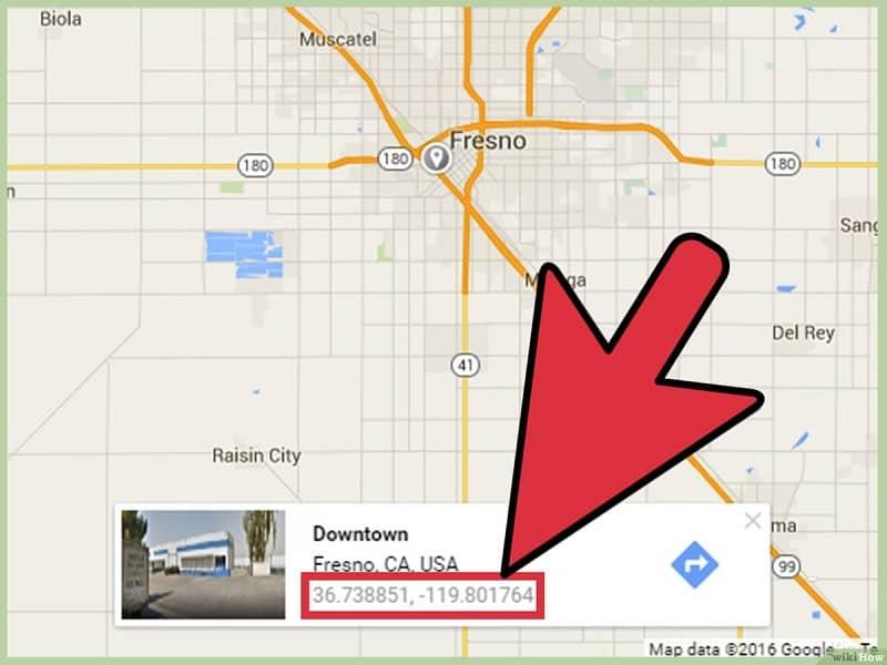 ubicacion de un sitio en google maps