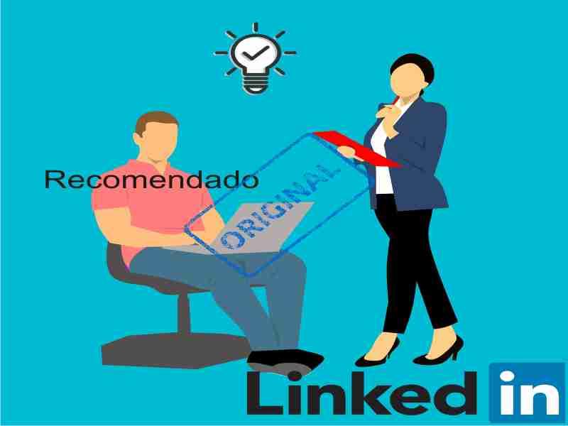 usuarios recomendaciones en linkedin