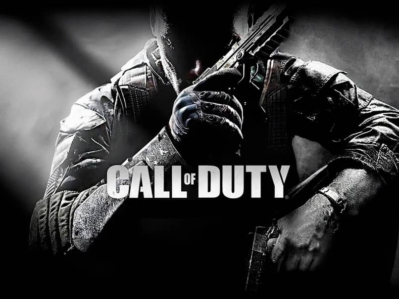 black and white image call of duty