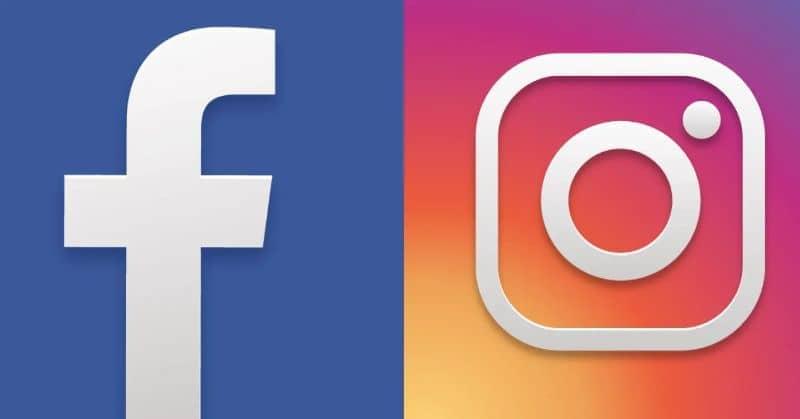 logos de instagram y facebook