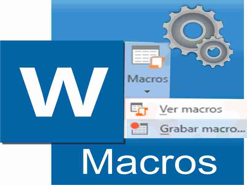 opcion de macros en microsoft word