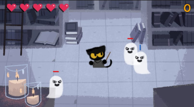 fight ghosts in the magic cat academy