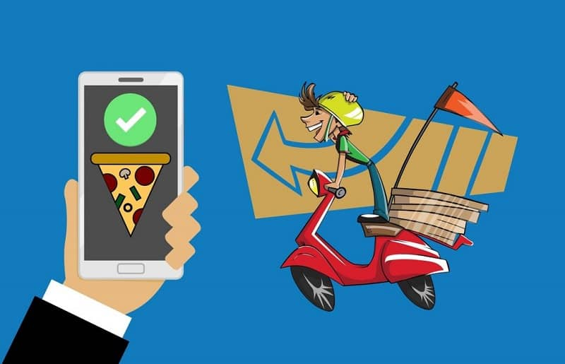 movil app delivery