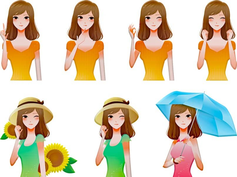 woman posing in avatar