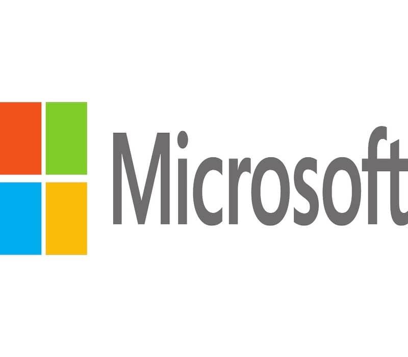 logotipo de microsoft