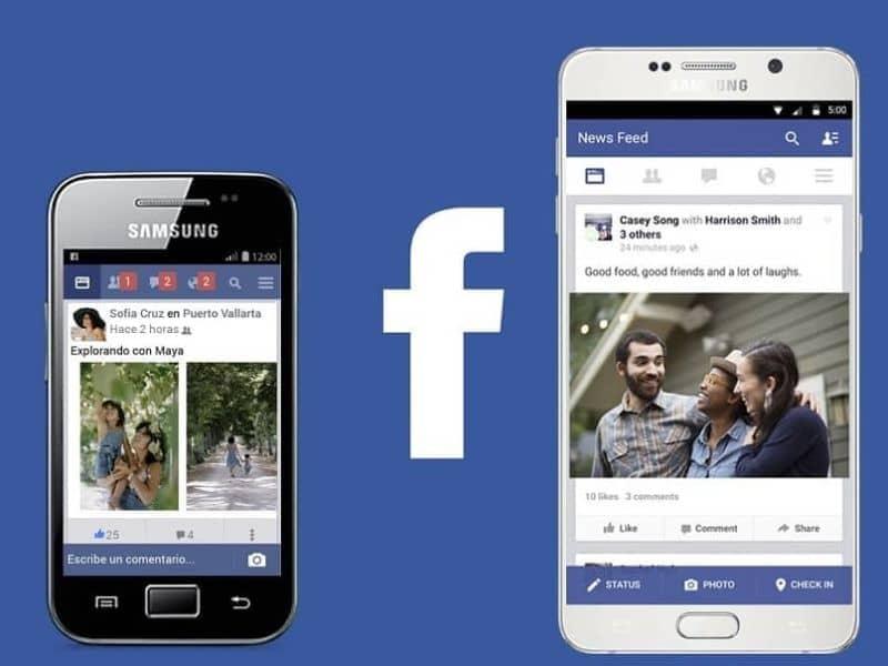 publicaciones de facebook en el movil
