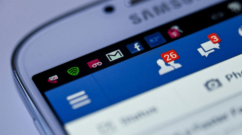solicitudes de facebook en el movil
