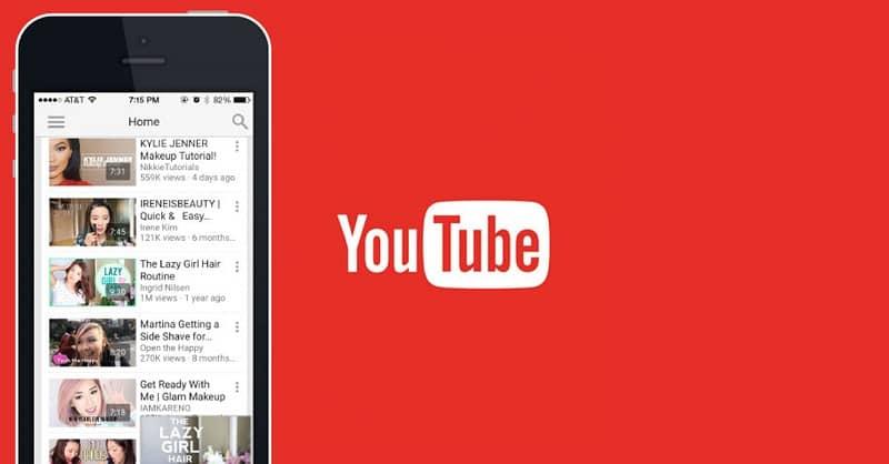 app de youtube en el movil