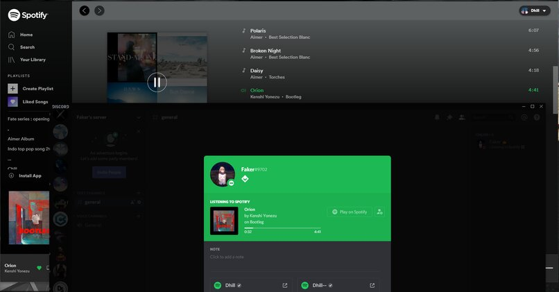 connects spotify to discord