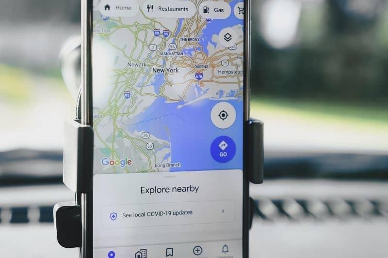 movil google maps no abre