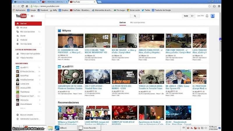 miniatura de videos de youtube