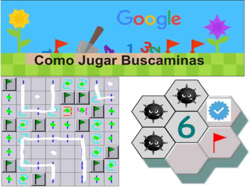 how to play minesweeper google steps