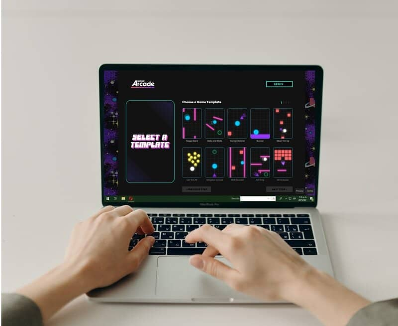 creating a game using giphy arcade