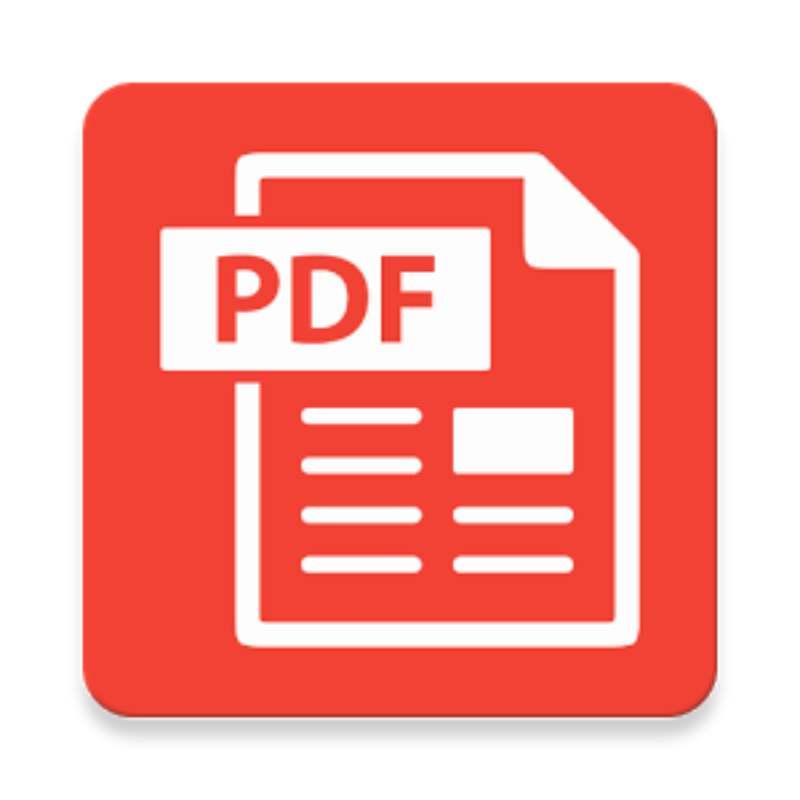 logo pdf rojo convertir