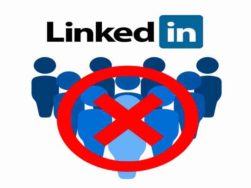 grupo de personas linkedin bloqueadas
