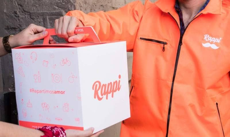 repartidor cliente entrega rappi