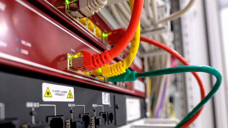 frecuencia de transmision cable cruzado